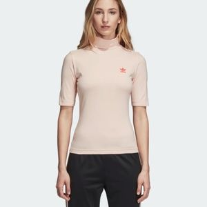 Adidas WOMEN ORIGINALS HIGH-NECK TEE